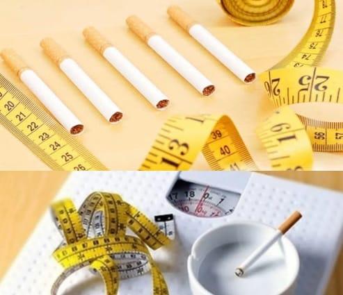 تاثیر ترک سیگار بر لاغری